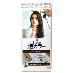Kao Liese Prettia Bubble Hair Color Dark Chocolate