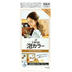 Kao Liese Bubble Hair Color Marshmallow Brown
