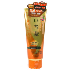 Kracie Ichikami Self Warming Hair Pack for Hair Ends Moist