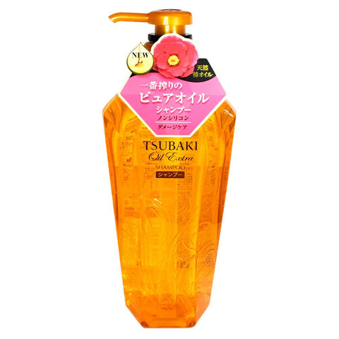 Shiseido Tsubaki Oil Extra Smooth Damage Shampoo 450ml