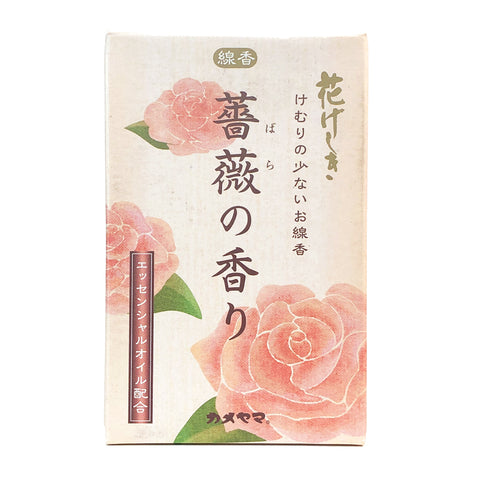Flower Geshiki Rose Aroma Incense Sticks 76g