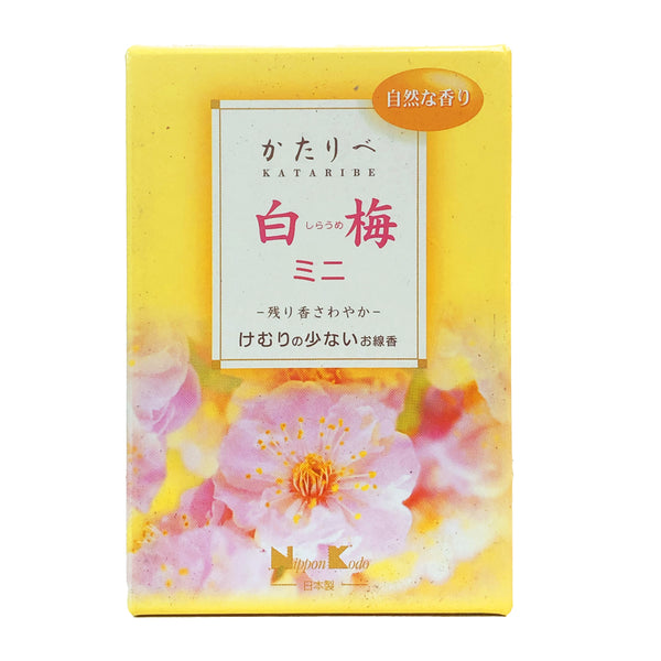 Kataribe White Plum Aroma Incense Sticks 76g