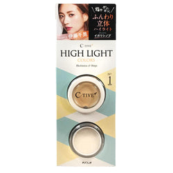 Koji C-Tive High Light Colors Face Powder No.1 Pretty