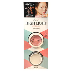 Koji C-Tive High Light Colors Face Powder No.2 Lovely
