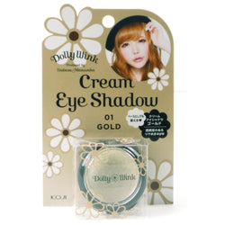 Koji Dolly Wink Cream Eye Shadow 01 Gold