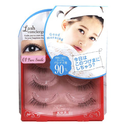 Koji Lash Concierge False Eyelashes 01 Pure Smile