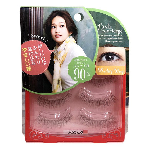 Koji Lash Concierge False Eyelashes 06 Airy Wing