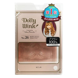 Koji Dolly Wink False Eyelashes 26 Brown Sweet