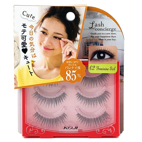 Koji Lash Concierge False Eyelashes 02 Feminine Girl