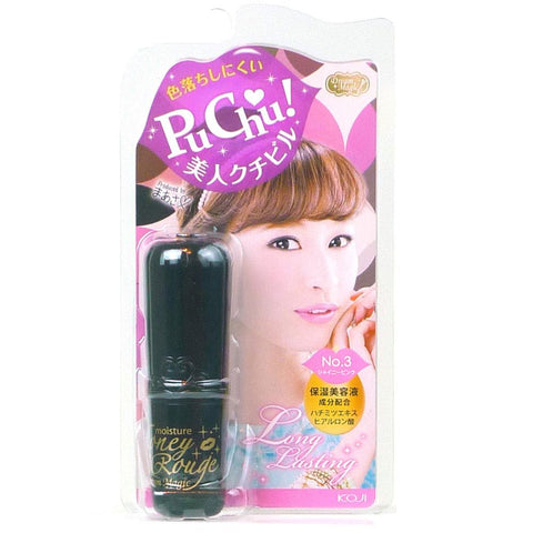 Koji Dream Magic Moisture Honey Rouge Lip Gloss 03 Shiny Pink
