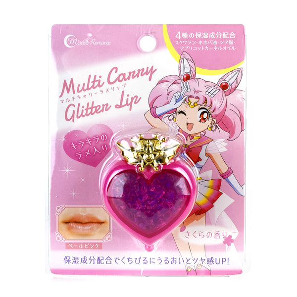 Creer Beaute Miracle Romance Multi Carry Glitter Lip Chibi Moon Compact & Rose Pink