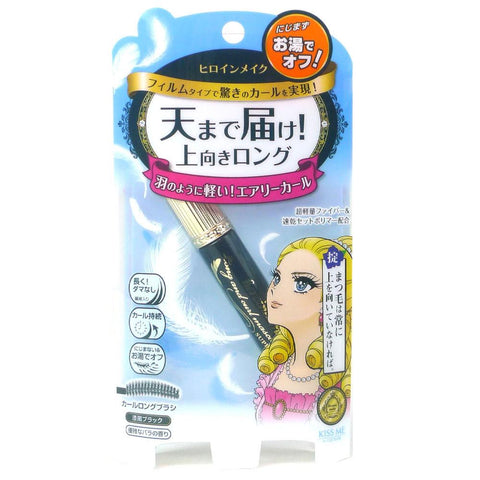 Isehan Kiss Me Heroine Make Super Film Long & Curl Mascara Raven Black