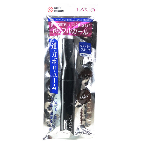 Kose Fasio Powerful Curl Mascara Volume BR300 Brown