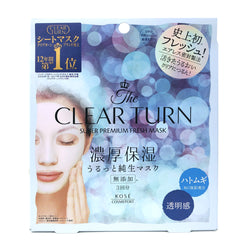 Kose Clear Turn Super Premium Whitening Fresh Mask Clear Skin 3pcs