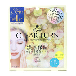 Kose Clear Turn Super Premium Firming Fresh Mask Firm & Glowing Skin Firming 3pcs