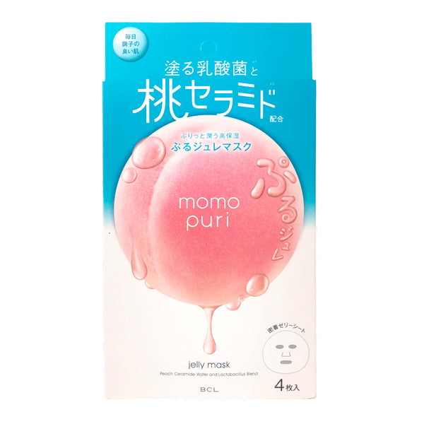 BCL MOMO PURI Moisturizing Jelly Mask 5pcs