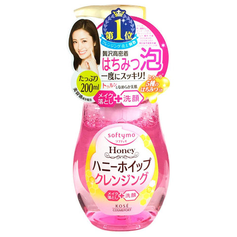 Kose Softymo Honey Whip Cleansing Foam