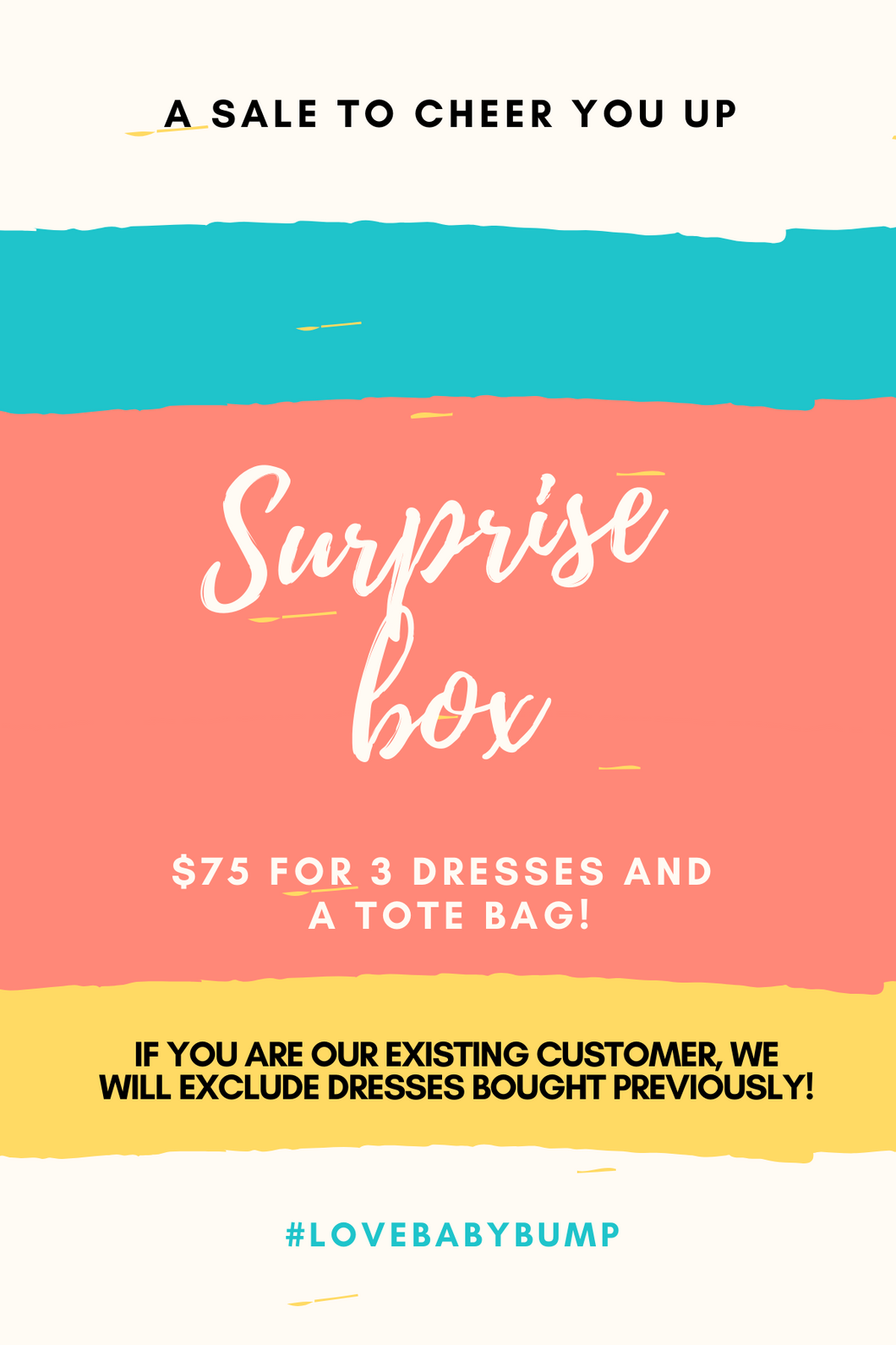 $75 Surprise Box - Limited Quantities