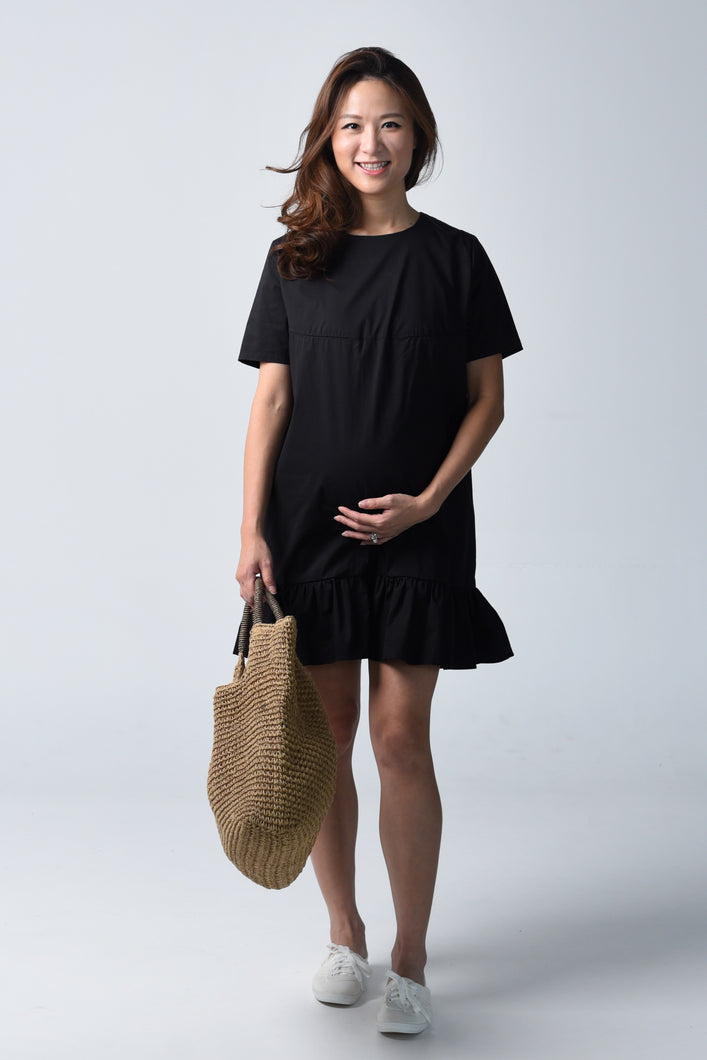 Happy Maternity & Nursing Shift Dress
