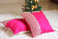 Sparkling Pink-Cushion Cover