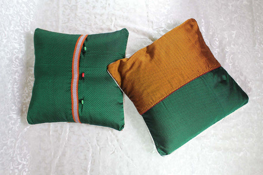 Pacche-Half Pocket Cushion Covers