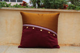 Slanted Cushion Cover