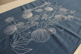 Sea shells by seaside-Khadi Table linen