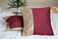 Golden Champagne-Cushion Cover