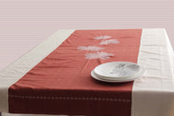 Blooming hibiscus-Khadi Table linen