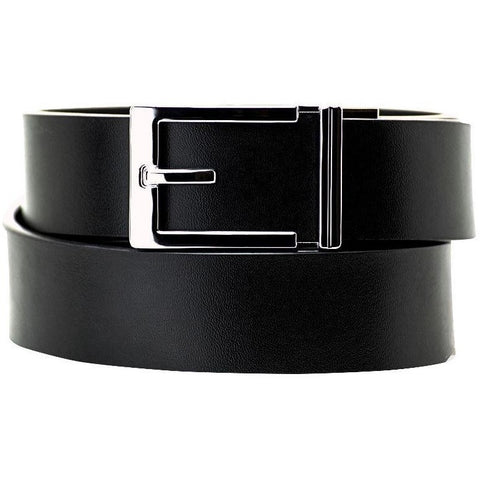 Midgard Menswear | Kore Essentials Belts | Express Chrome Buckle & Belt Set