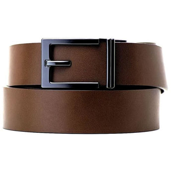 Express Gunmetal Buckle & Belt Set