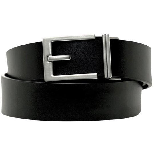 Midgard Menswear | Kore Essentials Belts | Express Nickel Buckle & Belt Set
