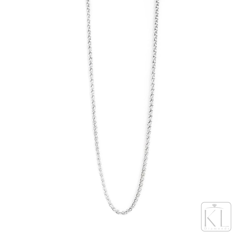 Classic 18ct White Gold Chain