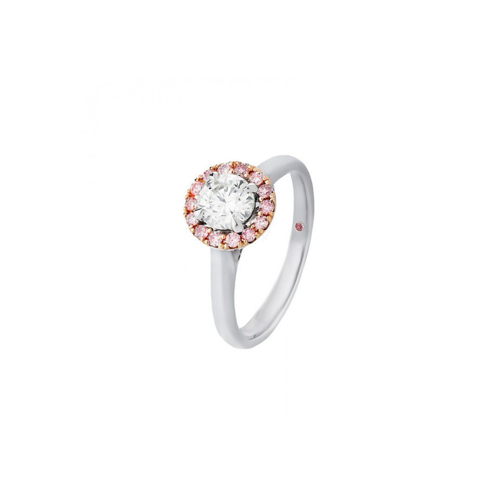 p gold setting product pink co engagement diamond ring white rings diamondsbyraymondlee gabriel halo