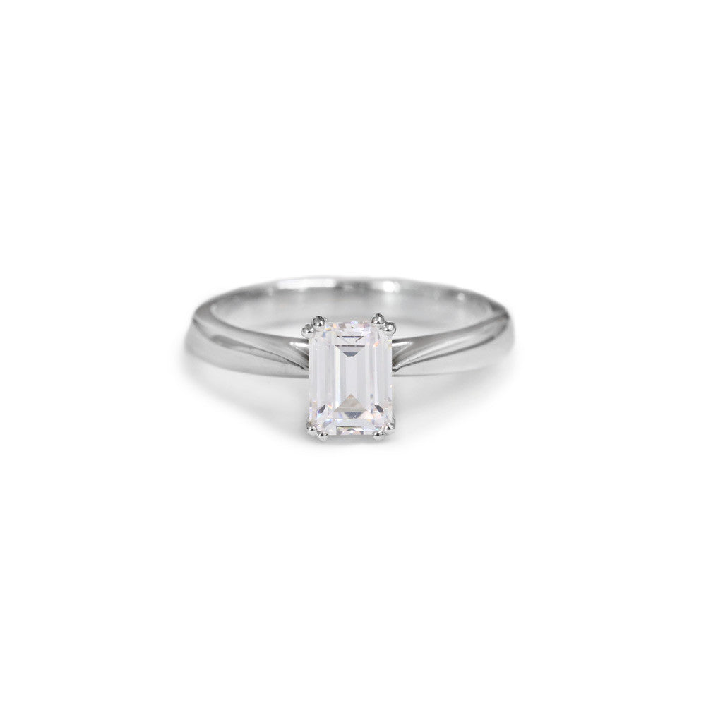 emerald cut solitaire fullsizerender diamond topic
