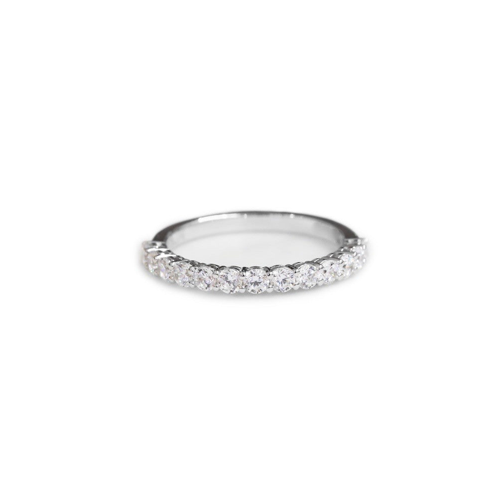 Diamond share claw wedding ring