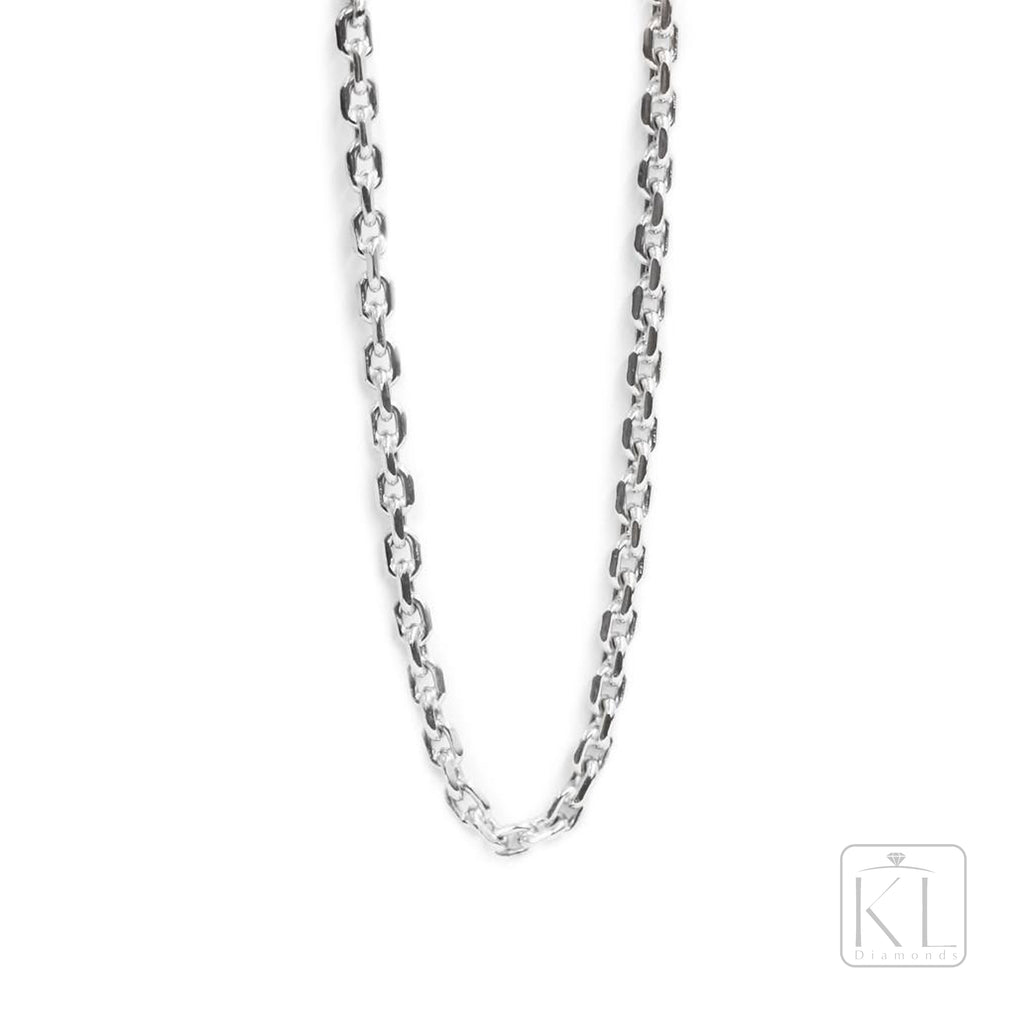 St James 18ct White Gold Chain