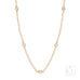 Yardley 18ct Rose Gold & Diamond Necklace