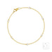 Yardley 18ct Yellow Gold Diamond Bracelet