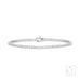 Let's Play 18ct White Gold Tennis Bracelet - Petite