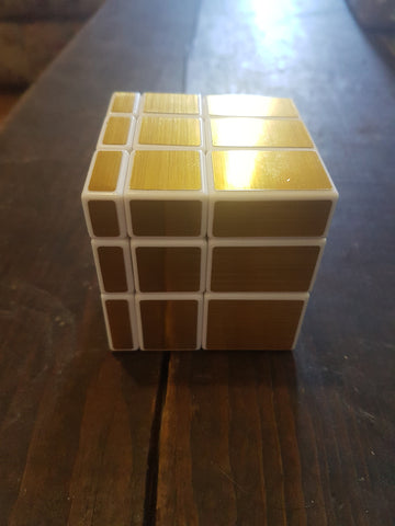 Gold & White Magic Cube