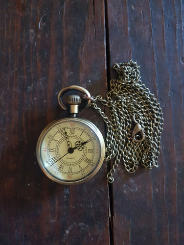 Bronze Coloured Pocket Watch