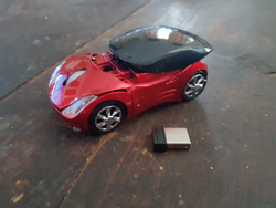 2.4Ghz Wireless 'Red Car' Mouse
