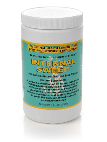 INTERNAL SWEEP™ - Colon Cleanse Fiber Powder