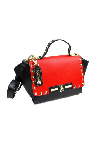 Embellished Italian Leather Handbag - Conti Moda | Buy Online at Weekends