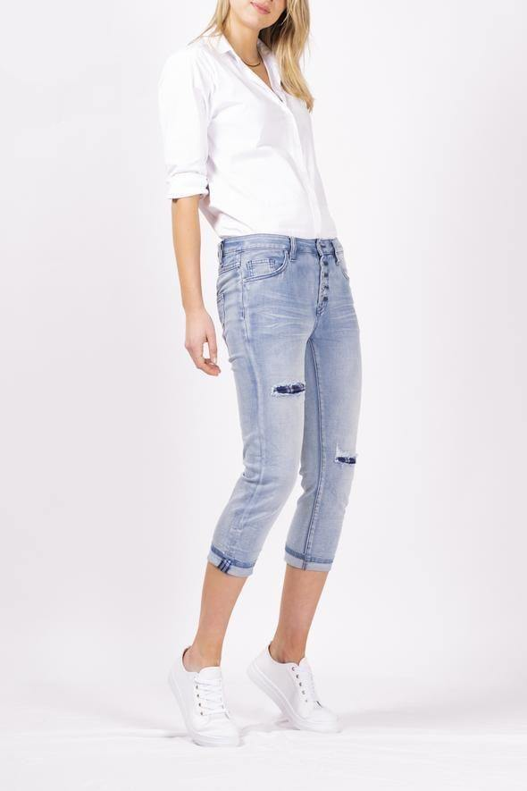 Camelian Onyx Denim Jean by Bianco - Weekends on 2nd Ave - Jeans