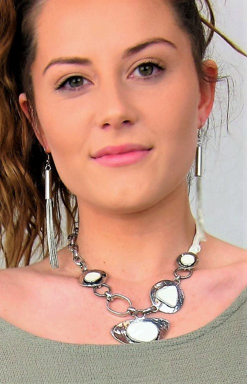 Geo Links Necklace - Conti Moda | Buy Online at Weekends