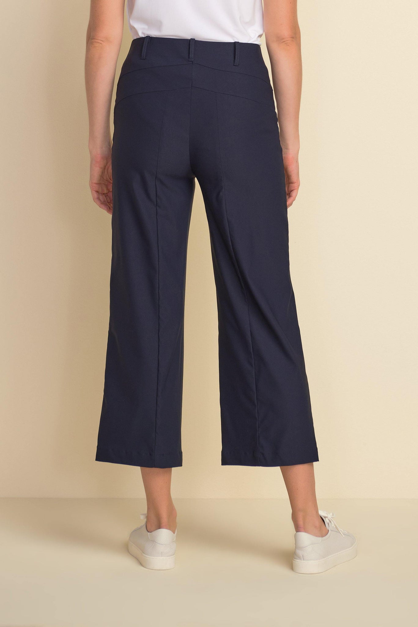 Wide Legged Cropped Pants by Joseph Ribkoff - Weekends on 2nd Ave