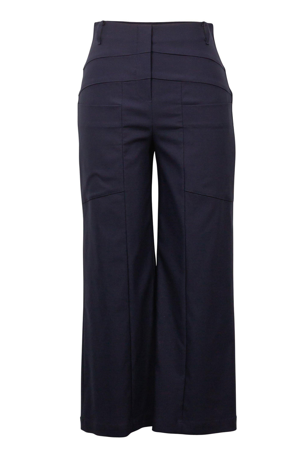 Wide Legged Cropped Pants by Joseph Ribkoff