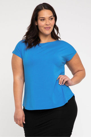 Bamboo Body Pia Tee - French Blue